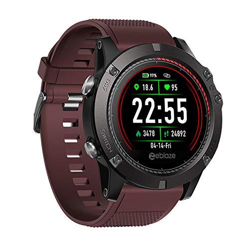 Smart Watch, Sport Fitness Tracker met Hartslagmonitor, Kleur Scherm Bluetooth Smartwatch Stappenteller, voor Android Man Vrouw