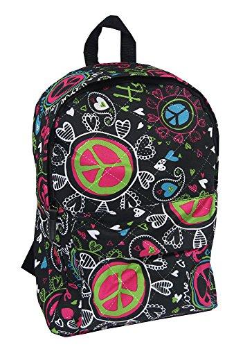 STREET Jump Rucksack Mädchen Jungen Unisex Tasche Daypack Love Peace Tasche 42x30x20cm