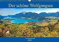 Der schoene Wolfgangsee im Salzkammergut (Wandkalender 2022 DIN A3 quer): Die schoensten Plaetze am Wolfgangsee (Monatskalender, 14 Seiten )