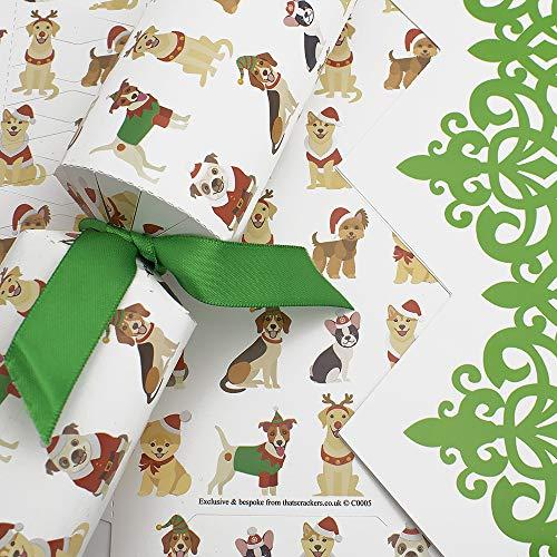 That's Crackers Christmas Dogs Kits básicos para Hacer Galletas – Hacer y llenar tu Propio