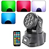4 en 1 RGBW LED luz de escenario iluminación de escenario DMX-512 luz de cabeza móvil 5 el modo de control es adecuado para Disco, KTV, Bar