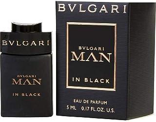 Bvlgari Man In Black Eau de Parfum Mini Splash .17 Fl Oz