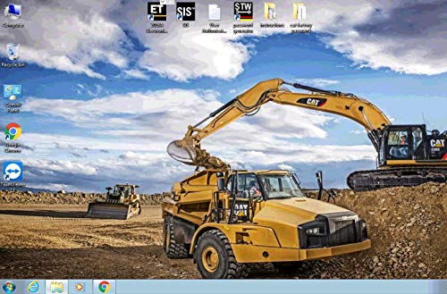 Heavy Duty Diagnostic Laptop & Interface Kit for All Caterpilllar Equipment On Road & Off-Road 2019