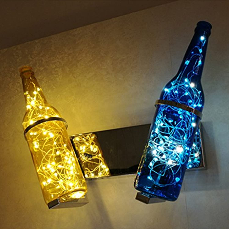 LED Wandleuchten Vintage Einfache Weinflasche Wandlampen Für Dekorative Bar Cafe Restaurant Leuchten DE (Farbe   B)