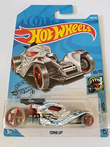 Hot Wheels 2019 Street Beasts Tomb Up, 249/250 Chrome