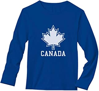 Canada Day Canada Maple Leaf Canadian Pride Patriotic Long Sleeve T-Shirt