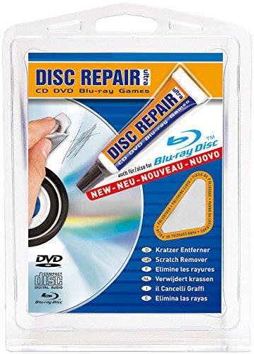 Disc Repair Ultra Kratzer-Entferner für CDs, DVDs und Blu-ray-Discs, inkl. Poliertuch
