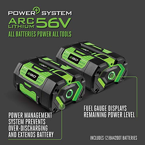 EGO Power+ PST3042 3000W Nexus Portable Power Station for Indoor and Outdoor Use Two 7.5Ah Battery Included, Black