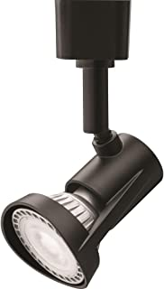 LITHONIA LIGHTING LTHFLT MR16GU10 27K DBL M4 1 LED Track Lighting Head, Black