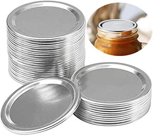 24 Pcs Regular Mouth Canning Lids Lids for Mason Jar Canning Lids Split Type Lids Leak Proof product image