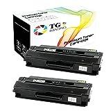 (3,000 Pages, 2 Pack) TG Imaging Compatible MLT-D115L Toner Replacement MLTD115L 115L for Samsung Xpress M2820 M2870 M2870FW Printer