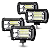 Aufun LED Arbeitsscheinwerfer 72W LED...