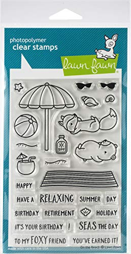Lawn Fawn Clear Stamps 4'x6'-on The Beach