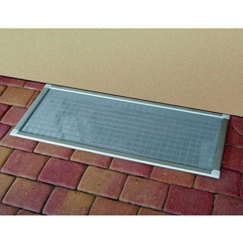 ACO Laub- und Insektenschutz-Gitter 115 x 60 cm für ACO Roste und Lichtschächte mit Breite bis 100 cm mit Metallsäge