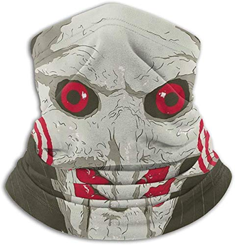 shenguang Jigsaw Saw Clown Head Schutzmaske Bandanas For Dust, Outdoors, Festivals, Sports