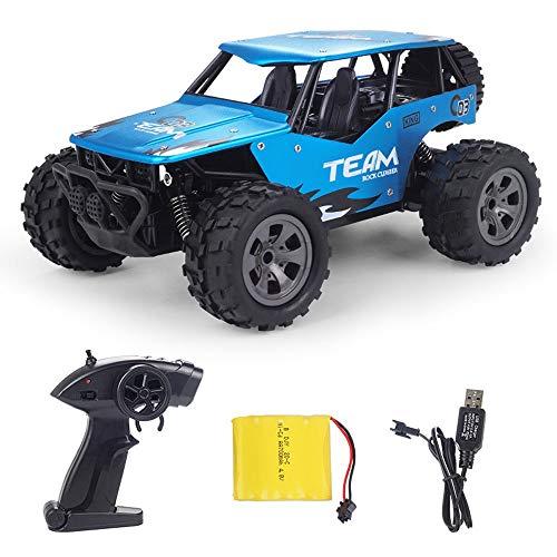 Camiones de control remoto para niños, 1: 12 Escala, 2.4GHz RC Monster Car Off Vehículo de carretera, 4WD Racing de alta velocidad All Terreno Stimbing Cars Juguetes, Regalo de camión para niños Chica