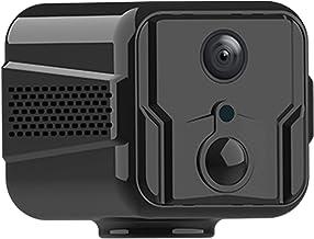 Eastdall Mini câmera portátil de alta definição 1080P Smart WiFi Câmera de segurança de Detecção de movimento Áudio de 2 v...