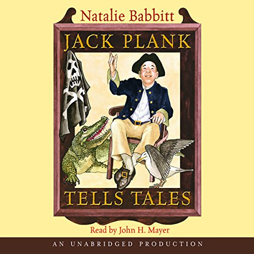 Jack Plank Tells Tales audiobook cover art