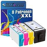 Tito-Express PlatinumSerie 8 Druckerpatronen XXL mit Chip und Füllstandsanzeige kompatibel mit HP 920 XL OfficeJet 6000 6500 6500A Plus 7000 7500 7500A