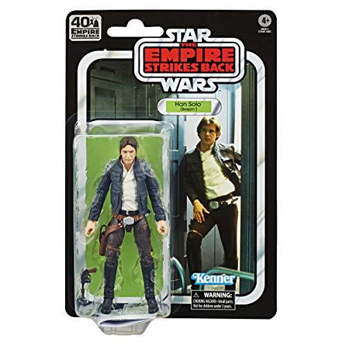 Hasbro Star Wars The Black Series - Han Solo (Bespin) (Action Figure Action Figure da Collezione da 15 cm ispirata al Film Star Wars: L'Impero Colpisce Ancora - Edizione 40° Anniversario)