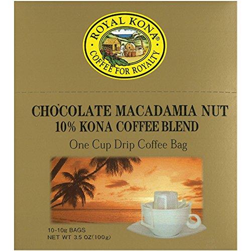 Royal Kona (ロイヤルコナ) チョコレートマカダミアナッツ ワンドリップ 100g