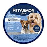 PetArmor Plus Flea & Tick Collar for Dogs, (one Size fits All) - 2 Count