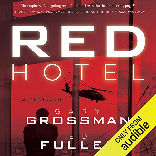 RED Hotel audiobook cover art