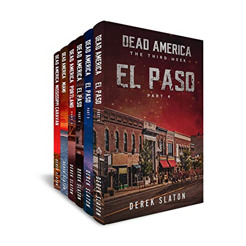 Dead America: The Third Week Box Set Books 1-6 (Dead America Box Sets