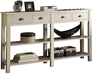 Best cream wooden console table Reviews