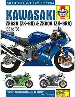 2003-2006 Kawasaki Ninja 636 ZX6 ZX6R ZX6RR HAYNES MANUAL 4742