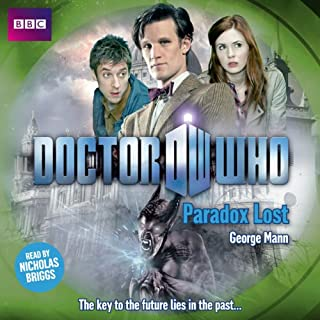 Doctor Who: Paradox Lost audiobook cover art