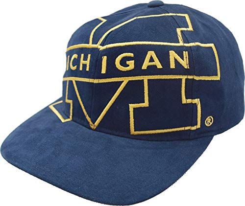 Mitchell & Ness NCAA Big Logo Deadstock Snapback University of Michigan - Gorra