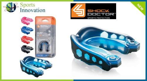 Shock Doctor Mundschutz GEL MAX, blau, Junior