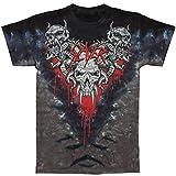 Slayer Men's Hell Awaits Tie Dye T-shirt Medium Black