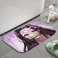 鬼滅の刃 地毯 地毯 地毯 玄关垫 隔音垫 地板 超大型 门垫 地垫 室内 防滑 家 厨房 浴室-A_120X160cm-A_120X160cm
