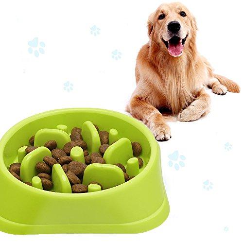 Reisenäpfe Hundenapf, Katzennapf, Anti Schling für die langsame Fütterung, Interaktive Napf, Umweltfreundlicher, langlebiger, Anti-Würgen,ungiftiger Hundenapf für gesundes und langsames Fressen