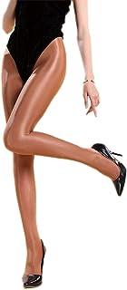 RICHTOER, 100D Sexy Shaping Calcetines de aceite Calcetines brillantes Medias Medias de Baile Ballet Medias