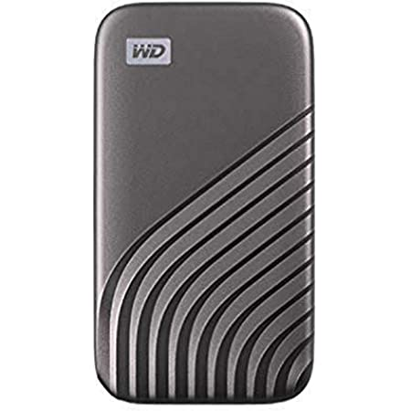 WD 2TB My Passport SSD External Portable Solid State Drive, Gray, Up to 1,050 MB/s, USB 3.2 Gen-2 and USB-C Compatible (USB-A for Older Systems) - WDBAGF0020BGY-WESN