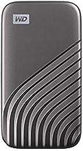 WD My Passport SSD 2 TB mobile Festplatte (NVMe-Technologie, USB-C und USB 3.2 Gen-2 kompatibel, Lesen 1050 MB/s, Schreibe...