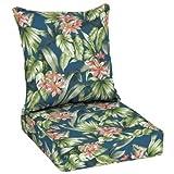 Better Homes and Garden Outdoor Patio Deep Seat Set - (1, Blue/Green)