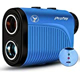 Profey Golf Rangefinder, 1500 Yard Laser Range Finder with Slope On/Off, Flag-Lock Tech with...