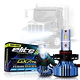 LED Conversion Kit Bulbs GX7 Pro Compatible with Peterbilt 330 325 335 340 348 384 386 387 Truck Headlight Lamp High Low