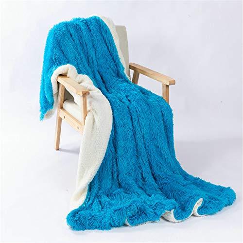 YUNSW Super Soft Plush Blanket, Synthetic Wool Blanket, Elegant And Comfortable Sofa Blanket, Warm Tv Blanket