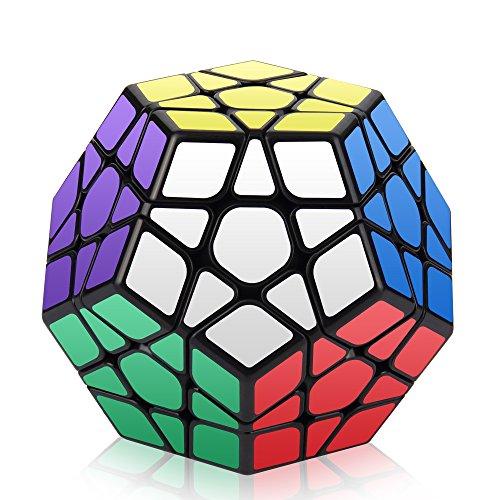 ROXENDA Megaminx Cube, 3x3x3 Pentagon Speed Cube Dodekaeder Magic Cube Puzzle Spielzeug