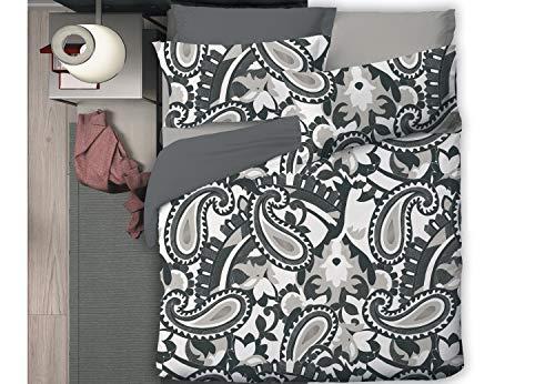 TAG HOUSE Niki 6573 v.09 Parure de lit pour lit double – Sans drap avec angles Bossi