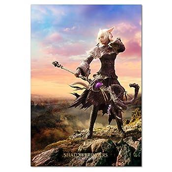 Pira Pira Boxes Final Fantasy XIV Online Shadowbringers Poster - Y shtola Art - FF14  11x17
