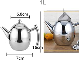 Best Quality 1 1.5l Stainless Steel No Dripping Vinegar Oil Pot Filter Can Bottle, Glass Drip Bottle - Glazing Tools, Oil Container In Cooking Utensils, Color Of Olive Oil, Home Gadgets