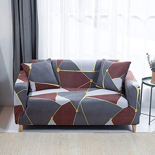 SHIM Funda de Asiento para Cubiertas móviles Couch toldos de campaña de Lujo Universal de la Fuerza elástica sofá de la Hoja de Cubierta A10 2seats 145 185cm