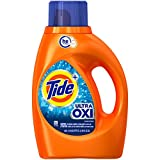 Tide Ultra Oxi Liquid Detergent, 29 Loads, 46 Fl Oz