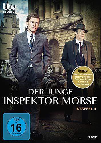 Der Junge Inspektor Morse-Staffel 5 [3 DVDs]